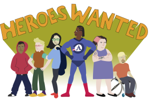 Super Heroes for AmeriCorps