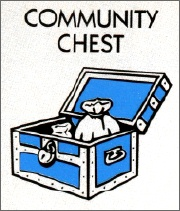 Community Chest card from Monopoly