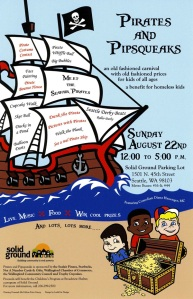 Pirates & Pipsqueaks Carnival 2010 poster