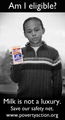 Boy with milk