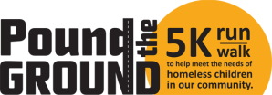 Pound the Ground 5K run/walk logo