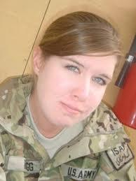 U.S. Army Specialist Mikayla Bragg
