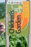 Children's Garden sign at Marra Farm