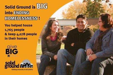 We are BIG into ending homelessness!