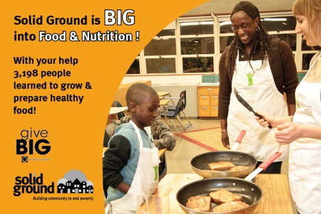 We are BIG into food and nutrition!