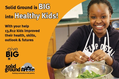 GiveBIG through the Seattle Foundation on May 15!