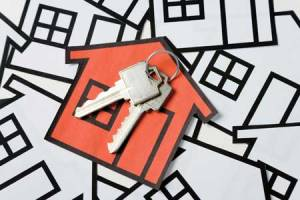 Image of keys to house