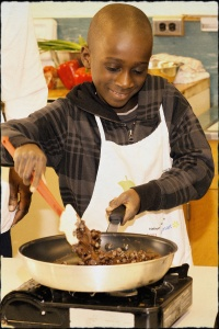 Cooking Matters builds community through hands-on nutrition education.