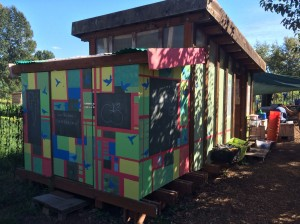 The children's shed got a makeover!