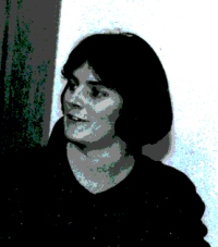 Lynn Livesley, MLK VISTA, circa 1985. Lynn was later program manager and director of the agency's national service programs