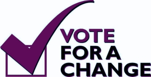 VOTE FOR A CHANGE image
