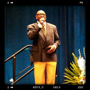 "Grammy Award winning ""Thrift Shop"" vocalist Wanz singing ""I Will"""
