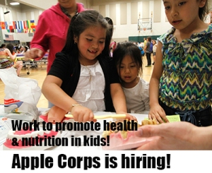 AmeriCorps positions teaching nutrition and education in low-income schools in Seattle.