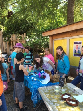 The Seattle Waldorf School Community Giving Store.