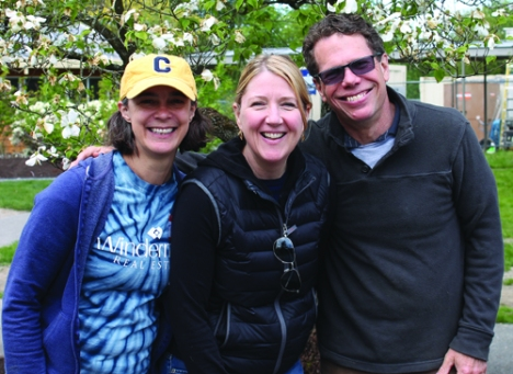 CoHo Team members (l to r) Tonya Hennen, Cara Mohammadian & Peter Wolf